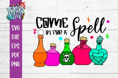 Come In For A Spell Witch SVG Product Image 2