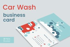 Car Wash Business Card Product Image 1
