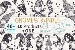 Gnomes Bundle svg , Scandinavian Gnomes SVG, Gnome Clipart, Product Image 1
