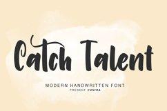 Catch Talent   Modern Handwritten Font Product Image 6
