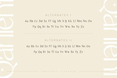Qarlient - An Elegant Modern Display Font Product Image 4