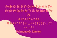 Balon Party | Layered 3 Style Display Font Product Image 6