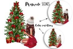 Fashion CHRISTMAS Girl Illustration Product Image 5