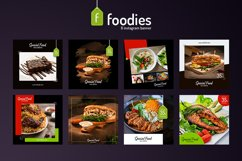 Foodie 8 Instagram Template Product Image 1