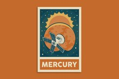 Retro Solar System Poster Product Image 10