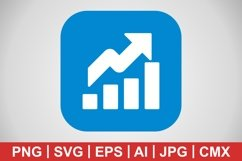 Vector Growth Icon Product Image 1