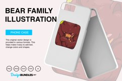 Bear Family Vector Illustration Product Image 3