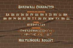 Bradwall Graffiti Font Product Image 5