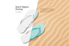Beach Slippers Mockup Product Image 1