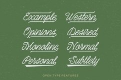 Shepia Script Product Image 5