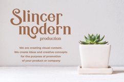 Kafina Modern Serif Font Product Image 4
