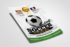 Football Match Flyer Template Product Image 2