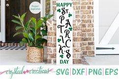 St. Patrick's Day Porch Sign 10x36 Bundle SVG, DXF, PNG, EPS Product Image 2
