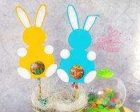 Lollipop holder template, candy holder, easter gift Product Image 3