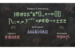 Chalkboy - Handwritten Chalk Font Product Image 6
