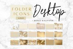 Icons Desktop folder, gold, photoshop Product Image 1