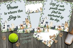 Dog Daze Printable Stationary and Posters Product Image 3