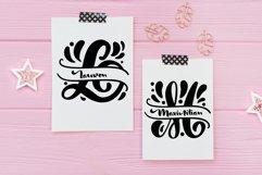 Split Letter Name Font Product Image 6