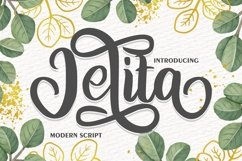 Jelita | Modern Script Product Image 1