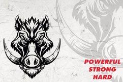 Mascot and Logo Wild boar Illustration Product Image 4