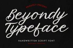 Beyondy Handwritten Script Typeface Product Image 1