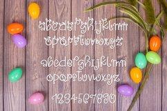 Web Font Snuggle Bunny Font Plus Easter Monogram Font Product Image 2