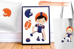 American Football graphics and illustrations Product Image 5