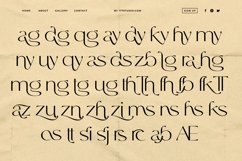 Allright - Fashionable Font Product Image 5