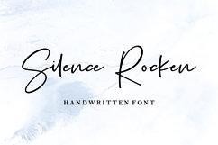 Silence Rocken // Handwritten Font Product Image 1