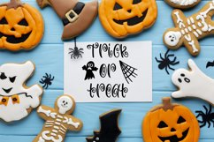 Witchcraft and Wizardry A Fun Halloween Font With Doodles Product Image 5