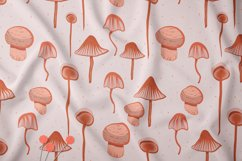 Abstract mushroom collection Product Image 4