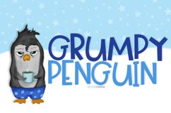 Grumpy Penguin Product Image 1