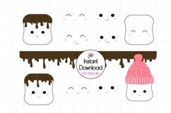 Kawaii Marshmallow Cups SVG BUNDLE! Product Image 3