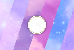 Nebula Seamless Patterns - Pastel Galaxy Backgrounds Product Image 2