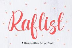 Raflist - Script Font Product Image 1