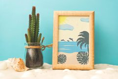 Summer landscape creator in abstract vector. Product Image 2