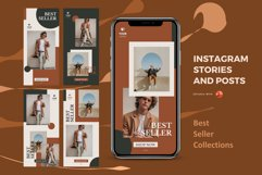 Updates! Bundle 12 packs instagram stories & posts powerpoin Product Image 5