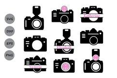 Camera svg, camera monogram Svg, photography svg, photograph Product Image 1