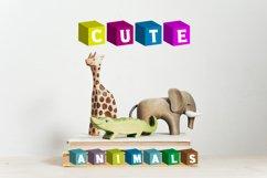 Color Cubes Font Product Image 1