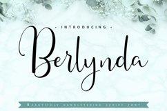 Berlynda   Handletering Script Font Product Image 1