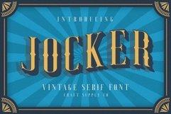 Jocker - Vintage Serif Font Family Product Image 1