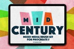 MID CENTURY BRUSHS FOR PROCREATE 5 Product Image 1