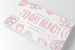 Morning Rain Font with Dots Product Image 5