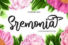 Sremonia - Handwritten Product Image 1