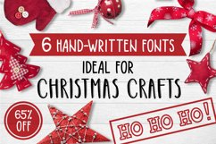 6 Fonts Christmas Collection Product Image 1