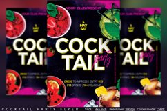 Cocktail Party Flyer Product Image 1