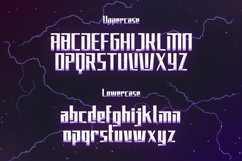 Elecstrom - Storm Display Font Product Image 5