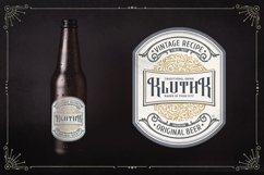 Rafiquell - Victorian Decorative Font Product Image 13