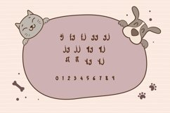 Web Font Cute Puppies Product Image 2