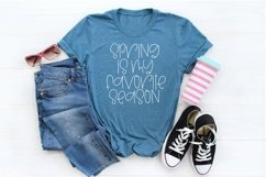 Web Font Spring Smiles - A Quirky Handlettered Font Product Image 4
